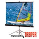 Draper 215024 Diplomat/R 109 Inch 16:10 Matt White XT1000E