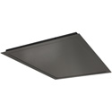 Draper 300574 Ceiling Closure Panel for the Environmental Airspace Projector Housing - Black