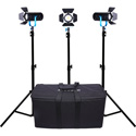 Dracast DRBR-LK-3X600B Boltray 600 LED (Bi-Color 3-Light Kit)