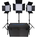 Dracast DRK1000B3K LED1000 Kala LED Bi-Color 3-Light Kit