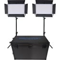 Dracast DRK2000B2K LED2000 Bi-Color Kala LED 2-Light Kit