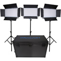 Dracast DRK2000B3K LED2000 Kala Bi-Color LED 3-Light Kit