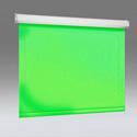 Draper V20623KG 120 Inch x 120 Inch Manual Pull-Down Chroma Key Green Screen