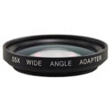 Bayonet Mount .55x Wide Angle Adapter for Sony PDX-10 and Canon Elura/Optura