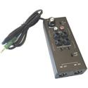 DSan LSP-3 Laptop Sound Port Multi Input Direct Box with Dual XLR Male Balanced Mic-Level Output