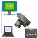 DSan VC-2000LT Video Clock - RJ-45 to Cat-5 Adapter with Software for Limitimer