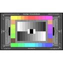 DSC Labs JW23-CDM28R ChromaDuMonde Test Chart 24-Plus-4 Colors with Resolution - Junior 17 x 10