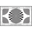 DSC Labs SW12-BFR Back Focus Test Chart with Resolution - Standard  21.3 x 13 inches