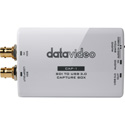 Datavideo CAP-1 SDI to Micro B USB 3.0 Capture Box - Plug-and-Play - Up to 350Mbps (USB)