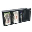 Middle Atlantic 5 Space DVD Shelf - Anodized Finish
