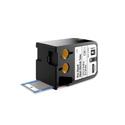 Dymo 1868717 XTL 1/4-Inch x 1-5/16-Inch (6 mm x 34 mm) Pre-Sized Heat-Shrink Tube - Black on White