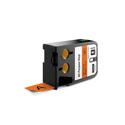 Dymo 1868768 XTL 1-Inch (24 mm) All-Purpose Vinyl - Black on Orange