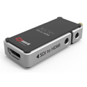 E2WORK 3GCSH 3G Nano Size SDI to HDMI Converter with Scaling Function