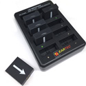 Eartec CHLX10E 10 Battery Charging Base with Adapter Fits UltraLITE - UltraPAK & HUB Batteries