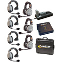 Eartec Comstar XT-7 Complete 7 Person System