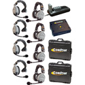 Eartec Comstar XT-8 Complete 8 Person System