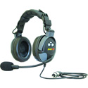 Eartec PD20TCS Proline Double Wired Headset with Auto Mute Microphone
