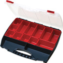 Eclipse Tools SB-4536B 15 Compartment storage case with 5 Large / 5 Small Parts & Connector Storage Case