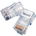 Eclipse Tools 702-008 8P8C RJ45 Modular Plug for Flat Stranded Wire 50 Pack