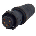 Switchcraft EN3C5FX ENE Series 5 pin Female Cable End Connector