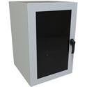 Hammond EN4DH362424WLG 19U 24W 24D N4/12 Eclipse Swing-Out Wall Mount Cabinet with Window Door