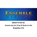 Ensemble Designs BENXT-910K-SC BrightEye NXT 910-SC Crop and Scale License for the BENXT-910 (download)