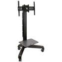 Ergotron 24-192-085 Neo-Flex Mobile MediaCenter UHD Stand - 50 to 65 Inch Screen Support - 120 lb Load Capacity