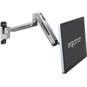 Ergotron 45-383-026 Mounting Arm for Flat Panel Display - All-in-One Computer - Polished Aluminum - 46in Screen Support