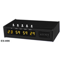 ESE ES 466 SMPTE/EBU Presettable Up/Down Timer