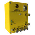 ESE DV-207/DC Portable 1x4 3G/HD/SD SDI Distribution Amplifier