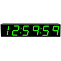 ESE ES-976/GREEN is a Time Code Display Featuring 7 Inch High Green LED Displays