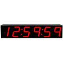 ESE ES-976-NTP-C 7.0 Inch 6-Digit ESE/SMPTE/EBU/ASCII Serial Slave TimeCode with NTP Client Display