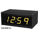 ESE ES-991U/PoE 2.3 Inch 4-Digit Serial Slave Time Code Display - Min and Sec - ESE/SMPTE/EBU/ASCII -  Amber Led