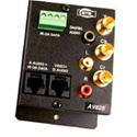 ETS AV828 HDTV Balun with Data & IRplus Audio Baluns w/ 3FBNC for Video and 3 RCA Jacks +Screw Terminals to 2 RJ45 Jacks