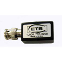ETS EIP-59-FBNC-45 Female BNC to RJ45 Jack