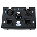 ETS PA204M InstaSnake - Receive (2) FXLR plus Receive (2) MXLR to RJ45 Jack - All Pins