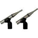 Earthworks TC25mp Matched Pair of TC25 - Omnidirectional Mic for Loud Sources - 9Hz to 25kHz