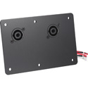 Electro-Voice CDNL4 Dual NL4 Cover Plate for EVA / EVC / EVF and EVH Loudspeakers