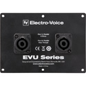 Electro-Voice EVU-CDNL4 Dual NL4 Connector Cover Plate for EVU Series Loudspeakers Only