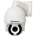 EverFocus EPA6220 AHD Camera - 1080p IR - IP66 Outdoor Speed Dome - 20x Optical Zoom - True Date / Night - WDR