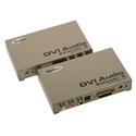 Gefen EXT-DVI-AUDIO-CAT5 DVI Audio Extender-Transmit Up To 150 FT