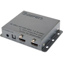 Gefen EXT-UHD600A-12-DS 4K Ultra HD 600 MHz 1:2 Scaler with EDID Detective and Audio De-Embedder