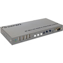 Gefen EXT-UHDV-KA-LANS-RX 4K Ultra HD and VGA KVM Over IP