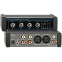 RDL EZ-MX4ML 4x1 Mic and Stereo Line Audio Mixer