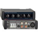 RDL EZ-MXA20 20 Watt Stereo Audio Mixer Amplifier