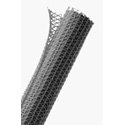 TechFlex F6N0.50pg 1/2 Inch F6-Self Wrap Sleeving - Platinum Gray - 150 Foot