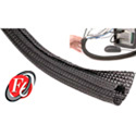 TechFlex - 3/4 Inch F6-Self Wrap Sleeving Black 50ft