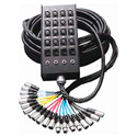 12ch Fan-Box ALL MIC Snake 50 ft.