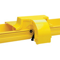 CommScope Technologies FGS-MEXP-E-A/B/F FiberGuide 4 Inch Express Exit for 4 x 4/4 x 6/4 x 12 Inch Raceways - Yellow