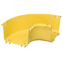 CommScope Technologies FGS-MH9E-B FiberGuide 90 Degree Raceway Horizontal Elbow - 4 x 6 Inch - Yellow